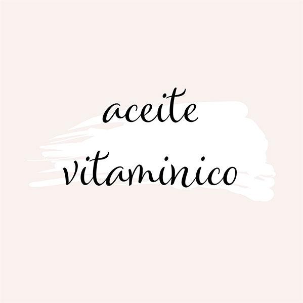 Aceite vitamínico
